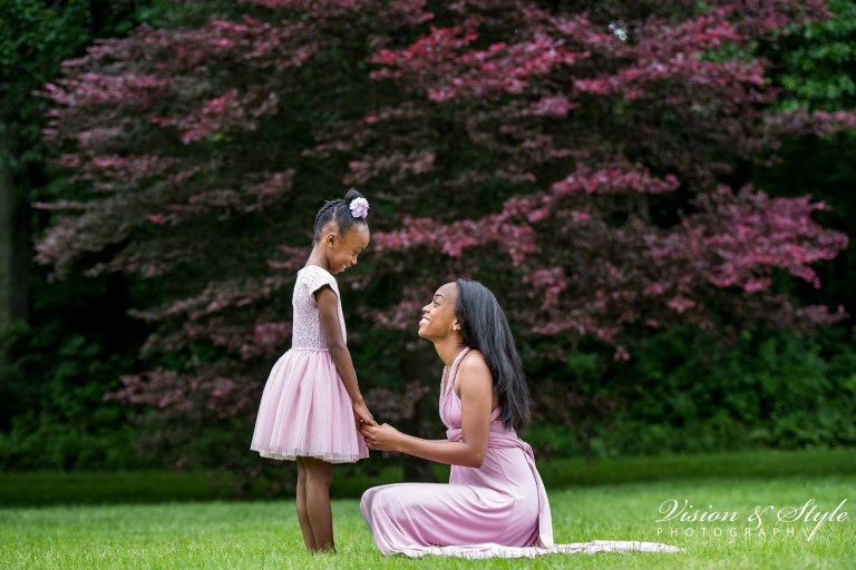 Mother daughter session -African american photography