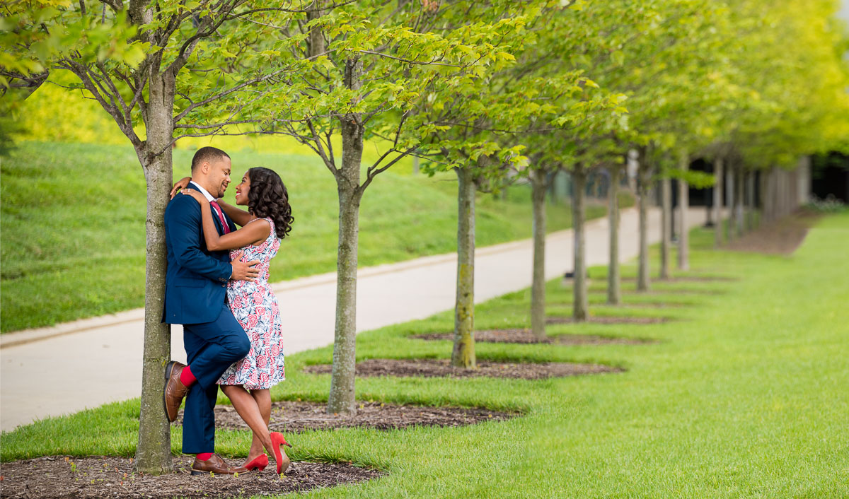 Best Places For Engagement Photos In Columbus Ohio